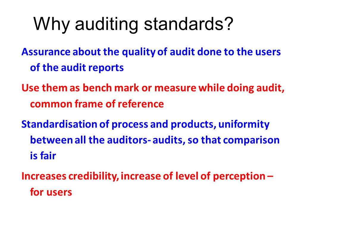 what is the difference between auditing standards and audit procedures How do process audits differ from procedure audits as indicated above, process audits focus on results and this is the principal difference between procedures audits that in general focus on tasks.