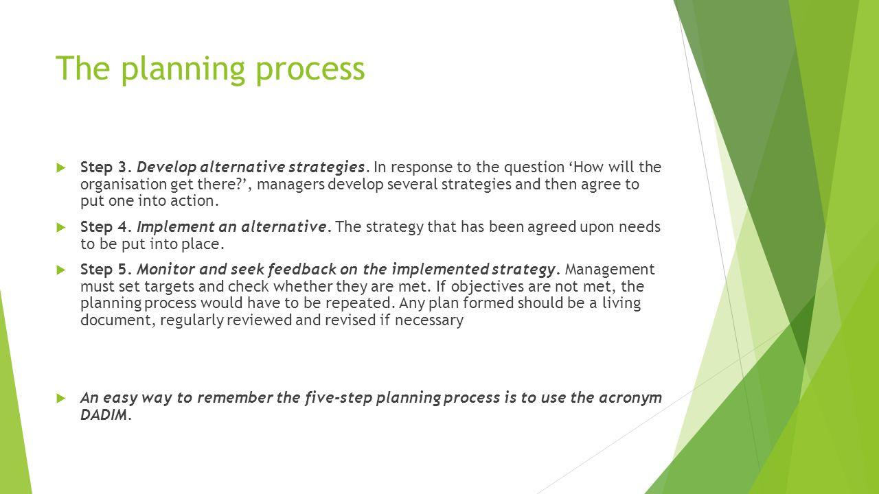 8 steps planning process pdf