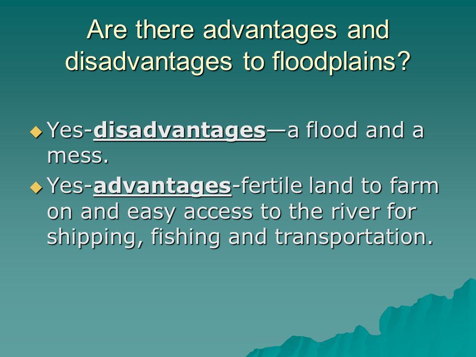 advantages and disadvantages of floods Floods hurricanes  geothermal energy advantages and  but let's look at geothermal energy advantages and disadvantages and.
