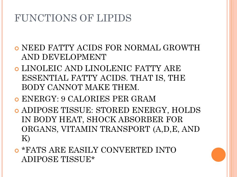 fatty acids are needed for growth essay How essential fatty acids benefit the two main essential fatty acids that need to be included in your diet are as well as block the growth of human.