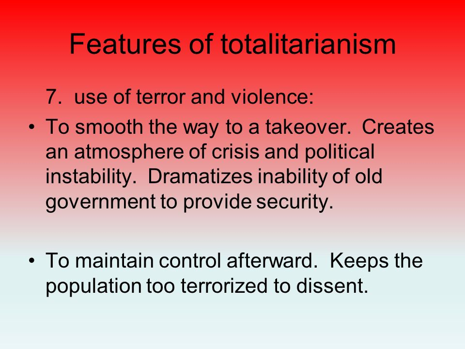 Totalitarianism. - ppt download