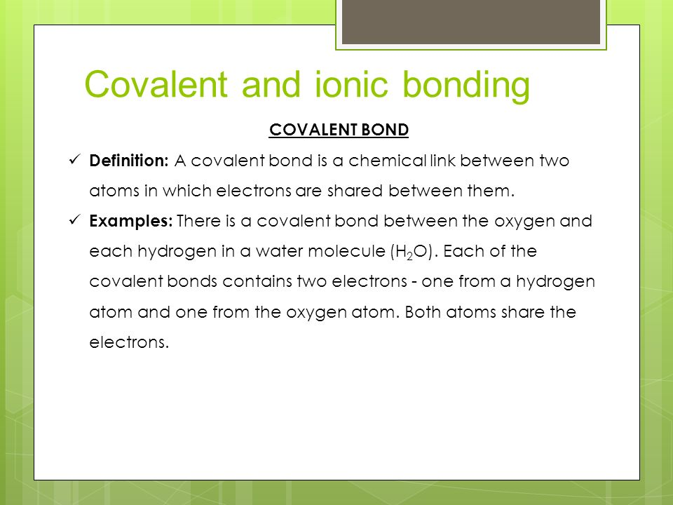atomic structure and bonding ppt download