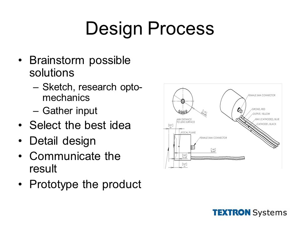 The Best Design Solutions: Designing An Intensified Photodiode Mount