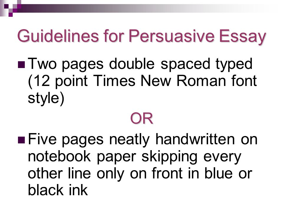 research paper ppt guidelines for persuasive essay