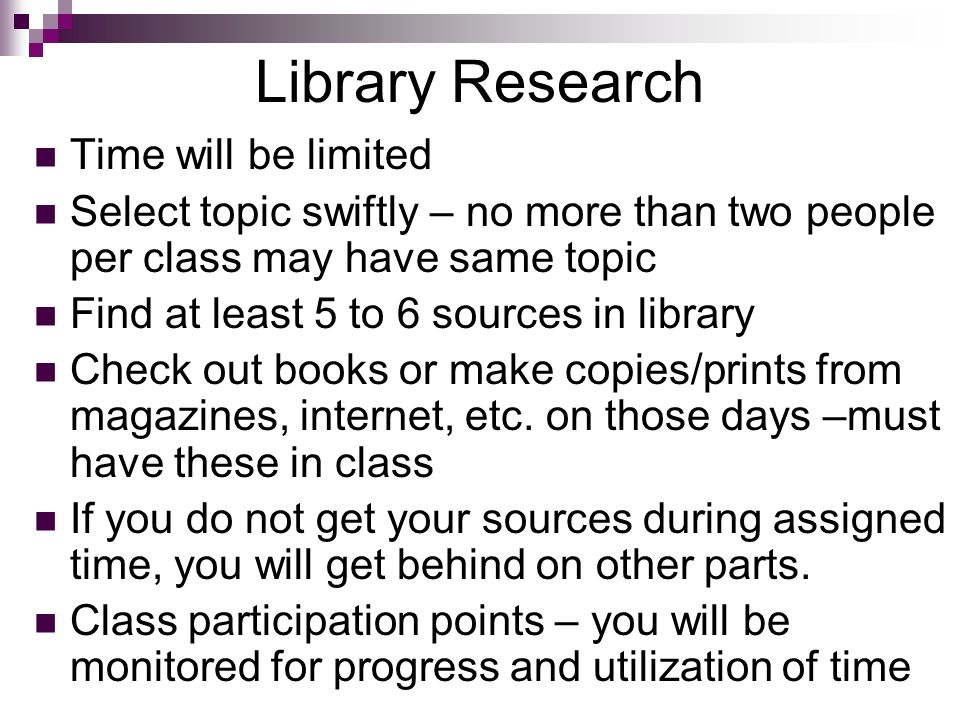 parts of library research paper How to write a science fair project research paper includes key areas for research and sample papers  you do library and internet research so that you can make a .
