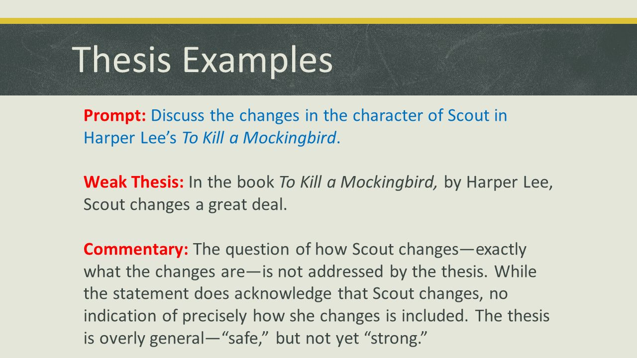 the changes in scouts personality in harper lees to kill a mockingbird An essay like presentation on the topic of fear of the unknown in harper lee's to kill a mockingbird of the unknown in harper lee's to kill scout not wanting.