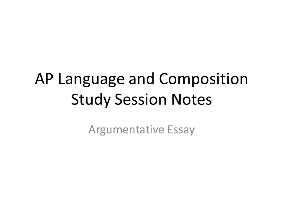 The Argumentative Essay     Question   or the DAQ AP Language   Composition  Exam Marked by Teachers