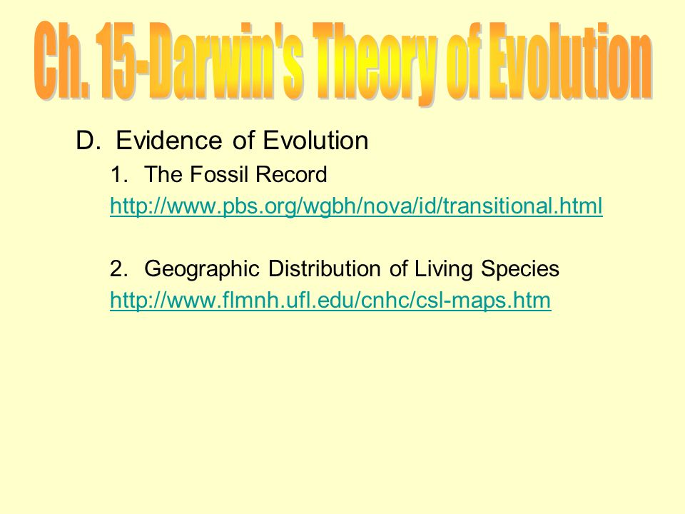 chapter 15 the theory of evolution worksheet answers. Black Bedroom Furniture Sets. Home Design Ideas