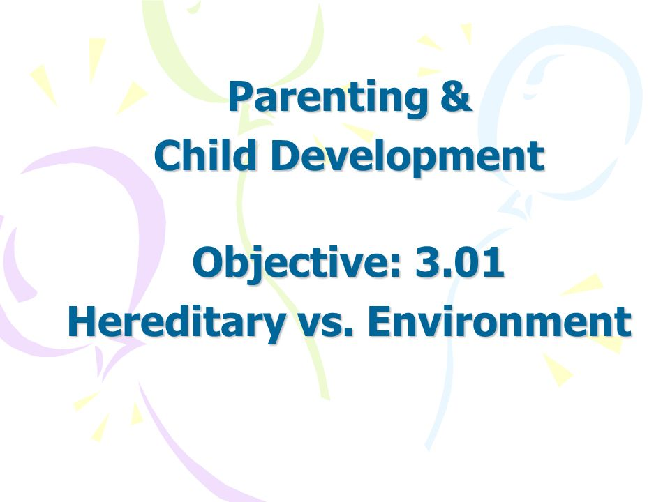 heredity vs environment in shaping an individual Essay:heredity and environment play a vital role in the development of the personality of the individual introduction: heredity and environment play a vital role in the development of the.