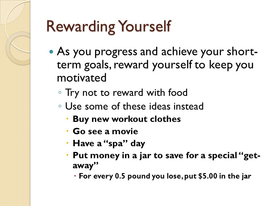 how to keep yourself motivated to eat healthy