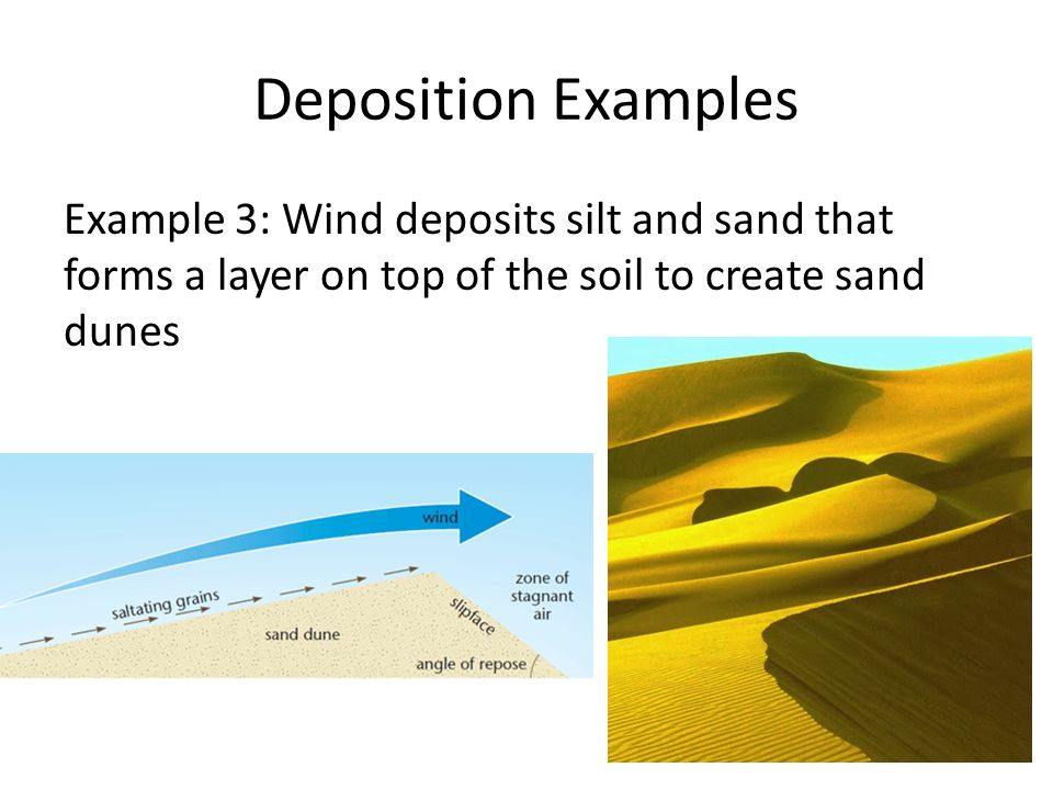 Changes to earth s surface unit ppt video online download for Soil is an example of
