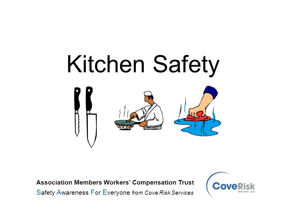 kitchen safety safety awareness for everyone from cove risk services - Kitchen Safety