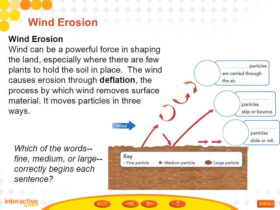 erosion and deposition ppt video online download ForSoil In Sentence