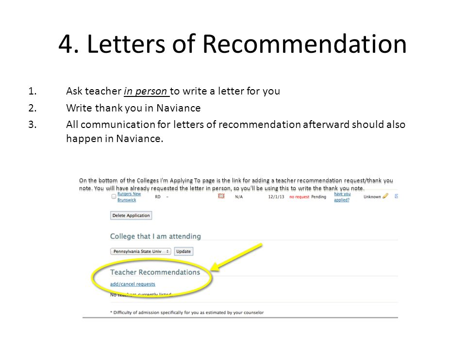 how to ask your teacher for a recommendation for ap