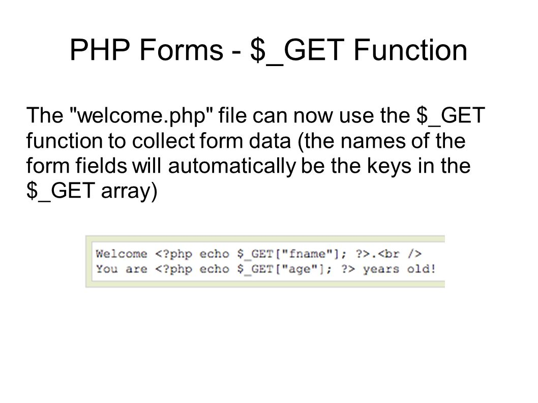 how to get array key value in php