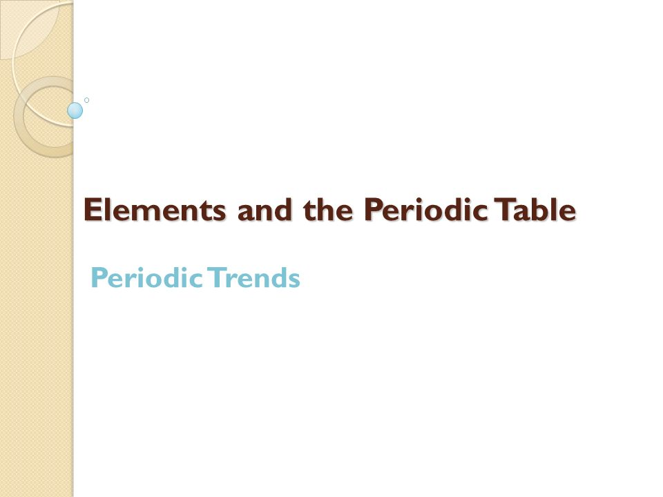 Elements and the periodic table ppt video online download elements and the periodic table urtaz Gallery