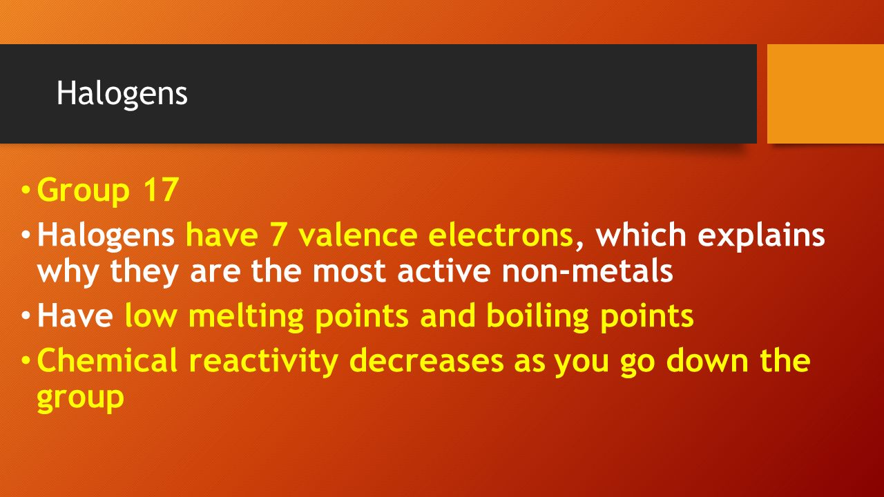 Aim how are elements organized in the periodic table ppt download 16 halogens gamestrikefo Images