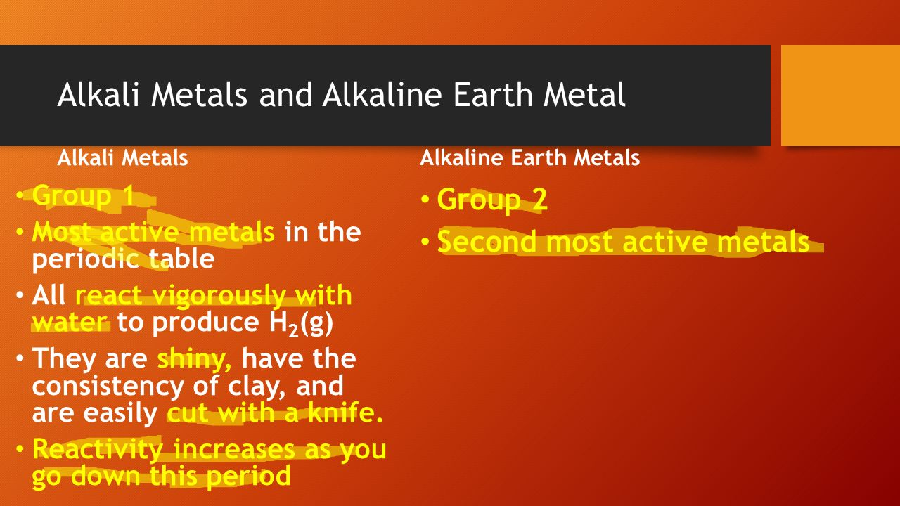 Aim how are elements organized in the periodic table ppt download 9 alkali gamestrikefo Image collections
