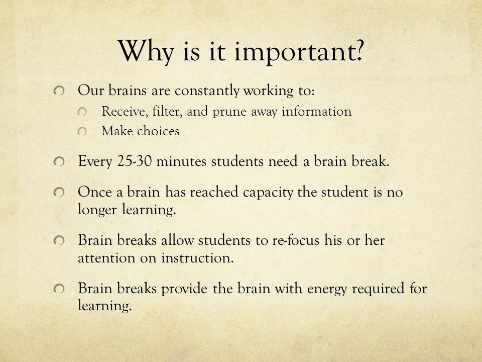 The Science of Taking a Break | OnlineSchools.org
