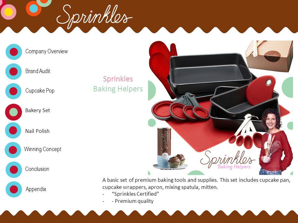 Sprinkles Baking Helpers