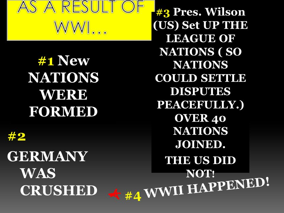 if america were to join the league of nations The us would never ratify the treaty or join the league of nations  the treaty  of versailles was the formal peace treaty that ended world war i between the.
