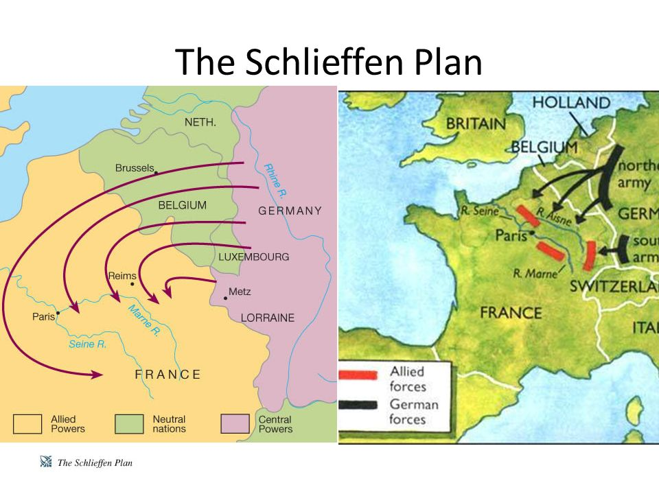 Was Germany Doomed in World War I by the Schlieffen Plan?