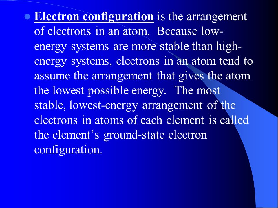Arrangement Of Electrons In Atoms Worksheet - The Best and Most ...