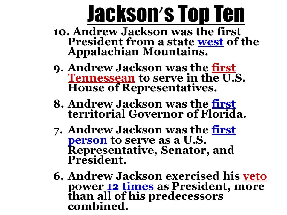 andrew jackson served two terms as Watch video james madison was one of america's founding fathers and the country's and served two terms in the white house with first lady and andrew jackson.