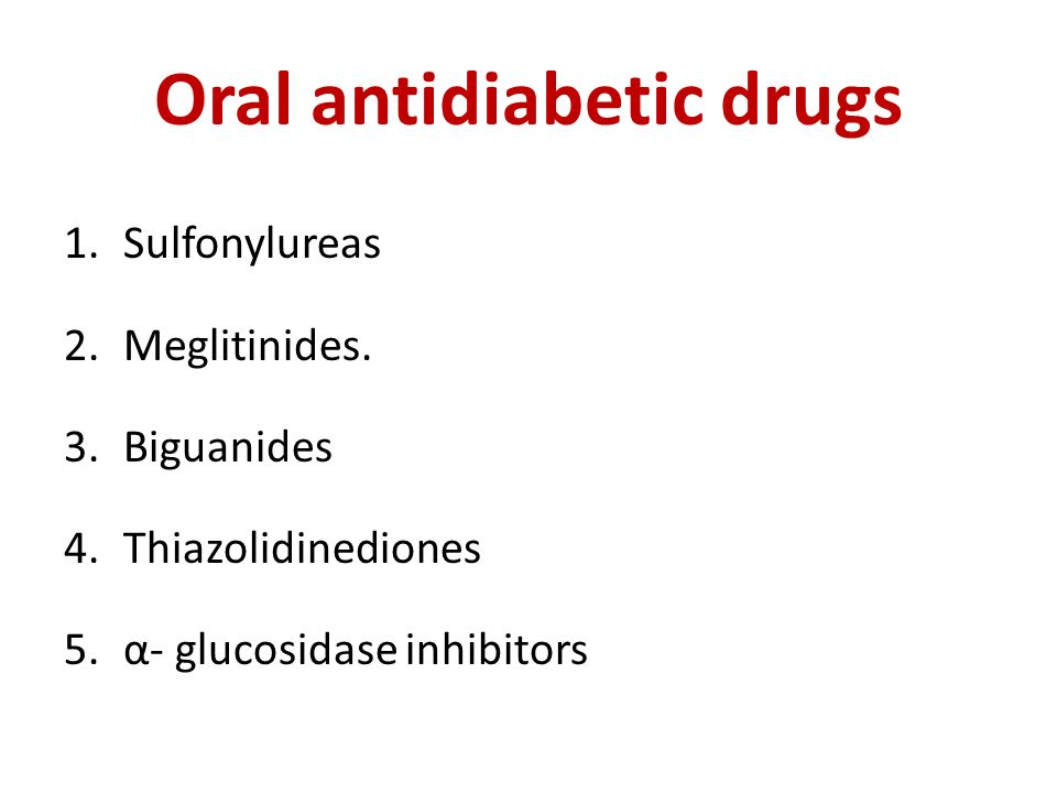 oral anti diabetic drugs The principles of combination therapy add a second oral anti-diabetes drug that has a different mechanism of action e metformin + sulfonylurea two medications in low doses rather than an increase in initial medicine to maxg.