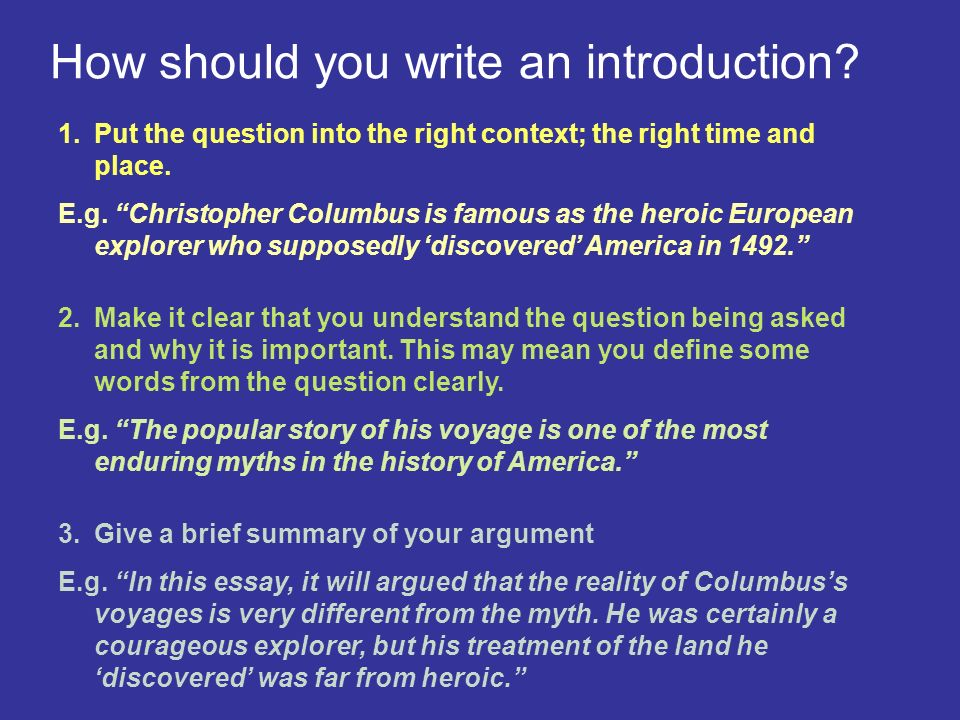 christopher columbus essay introduction Essays on christopher columbus  unknown in the defeat view the most famous journey 1 for a number an introduction  essay on christopher columbus.