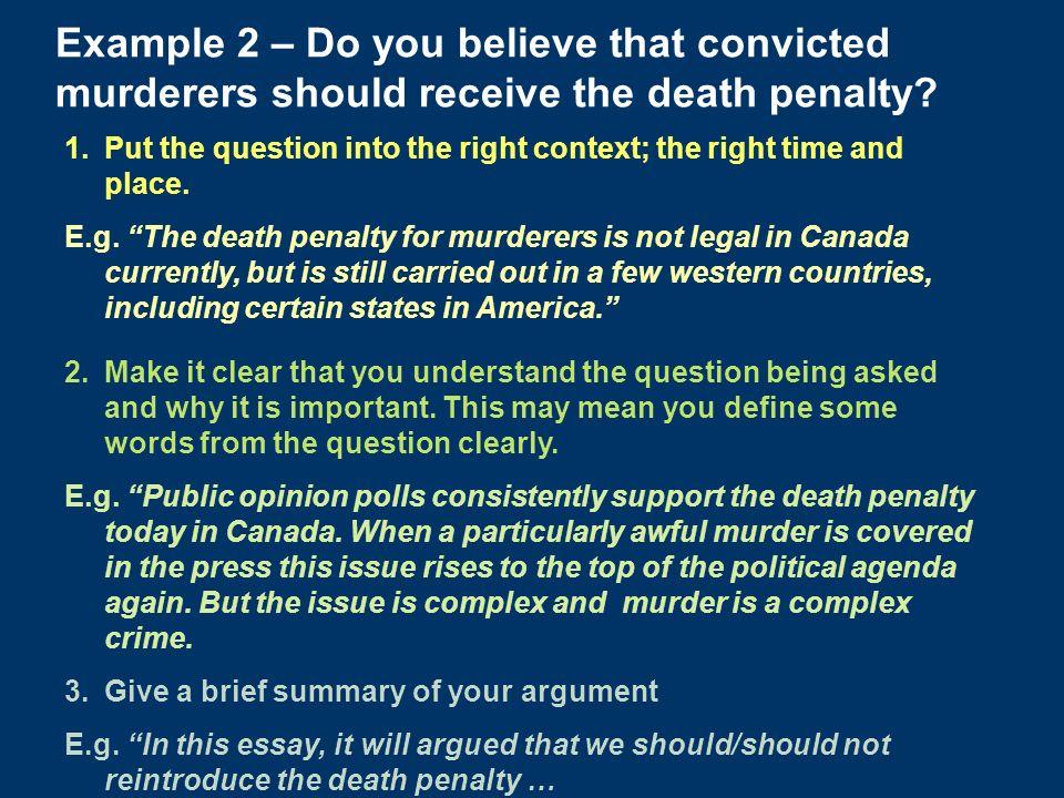 debating death penalty essay