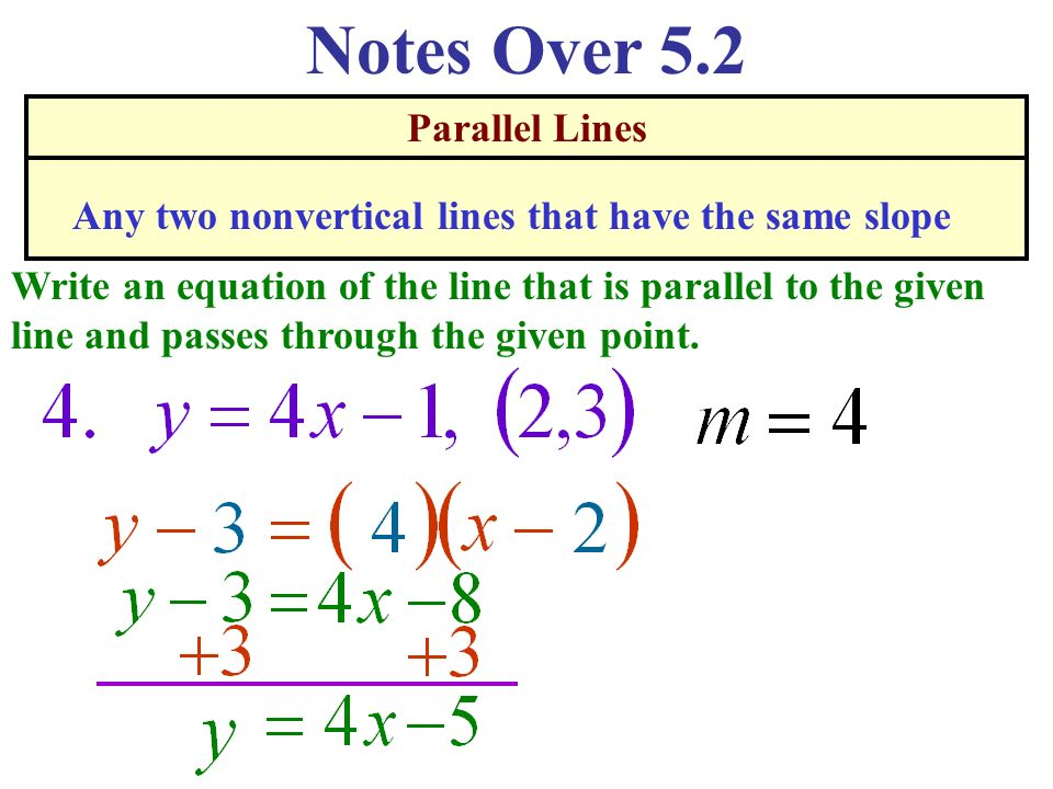Parallel and perpendicular line calculator