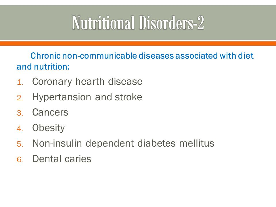 over nutrition obesity and non communicable diseases