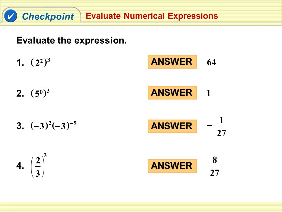 Evaluate the expression.