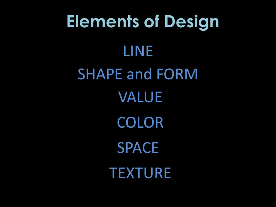 Elements Of Design Shape And Form : The compositions organizing ideas ppt video online download