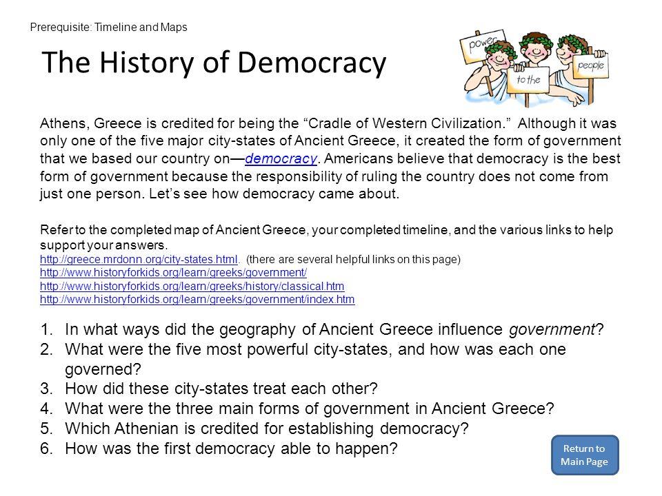 Quiz Language Daily Life MAPS Democracy Mythology ART ARCHITECTURE ...