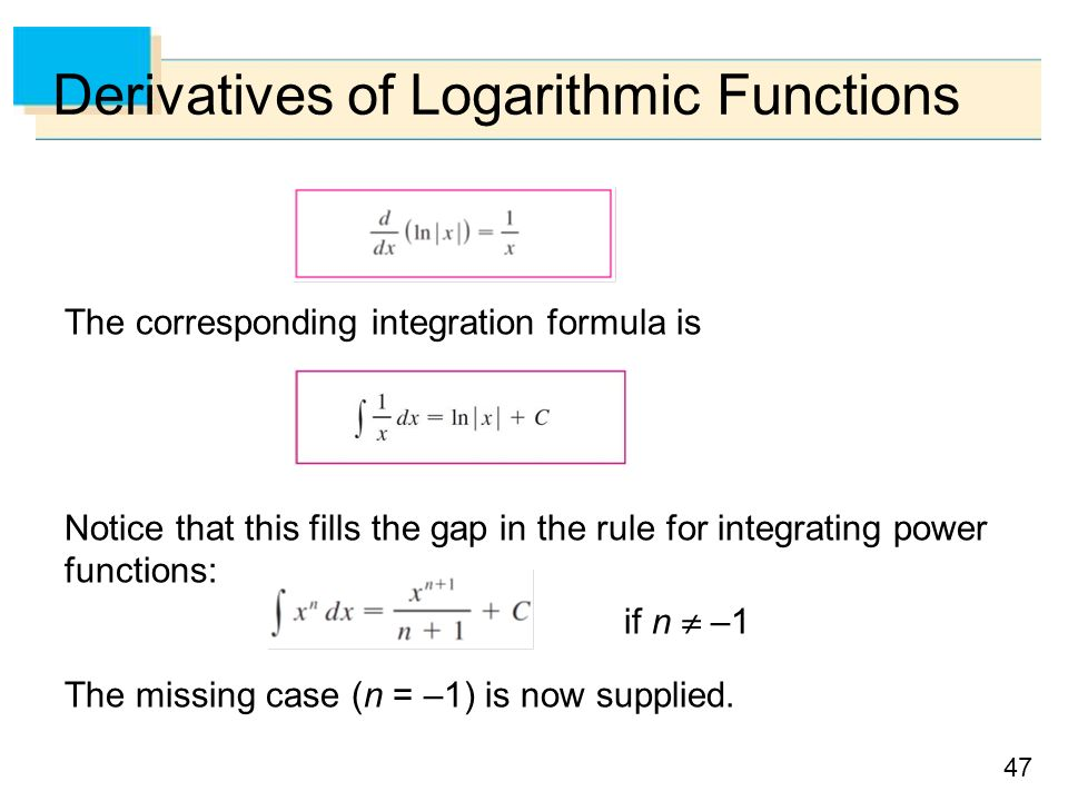 integration of logarithmic functions examples pdf