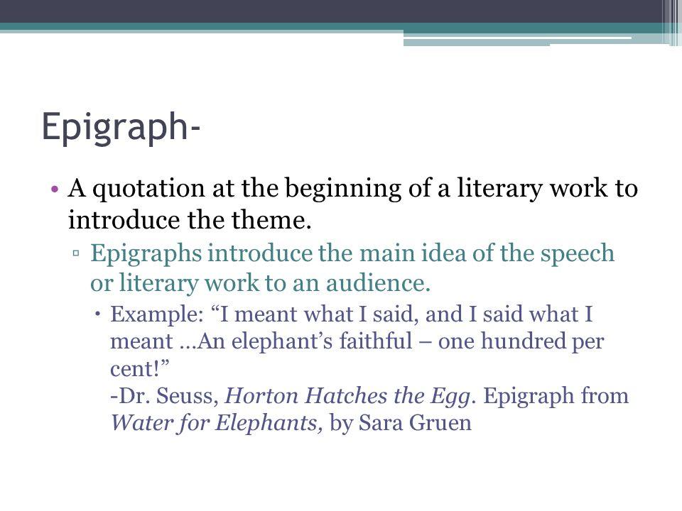 Epigram examplwss essay examples
