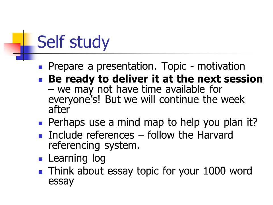 week review home study including your learning styles  23 self study