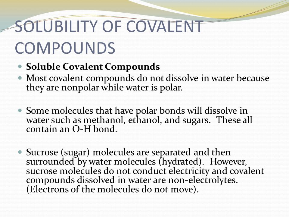 Properties of Ionic and Covalent Compounds - ppt video online download