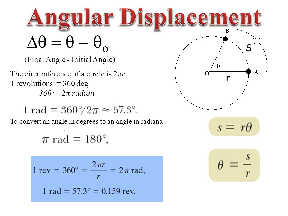 Chapter Angular Position Velocity And Acceleration Ppt