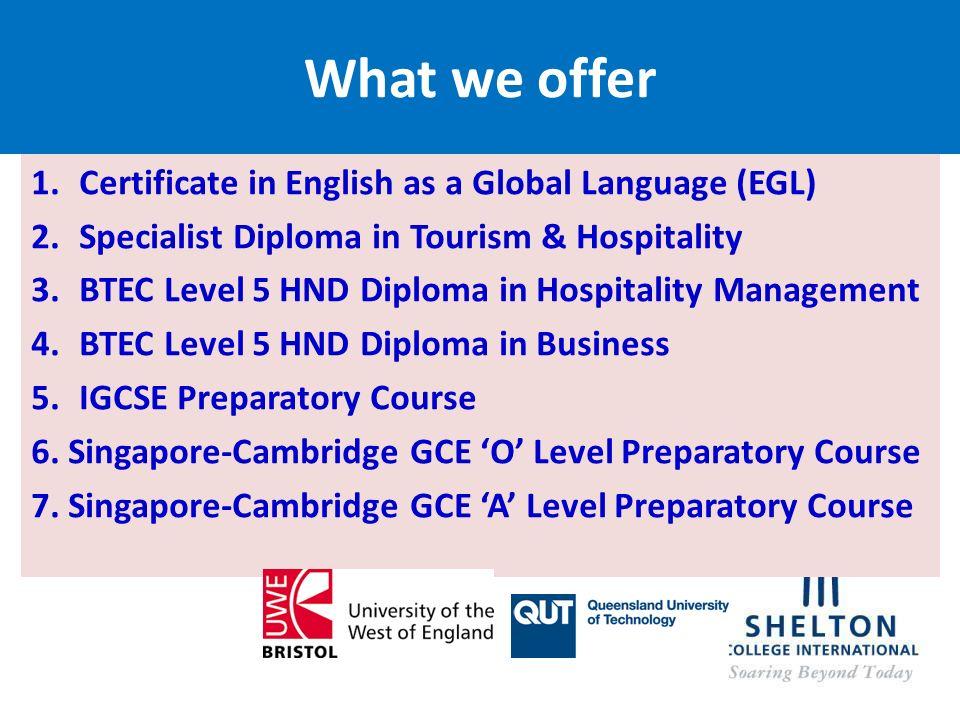 ABOUT SHELTON COLLEGE Shelton High School Shelton Education - Global language course