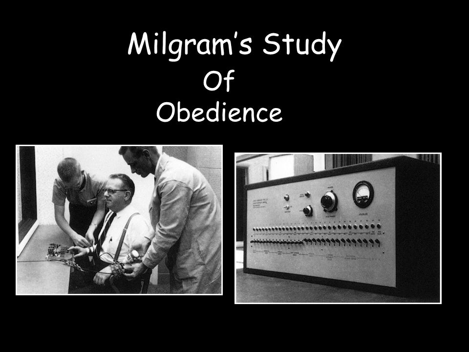 """behavioral study of obedience stanley milgram A critique of stanley milgram's """"behavioral study of obedience"""" stanley milgram is a yale university social psychologist who wrote """"behavioral study of obedience"""", an article which granted."""