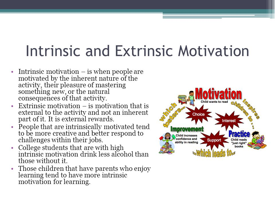 Raising Intrinsically Motivated Kids | A Healthy Slice of Life