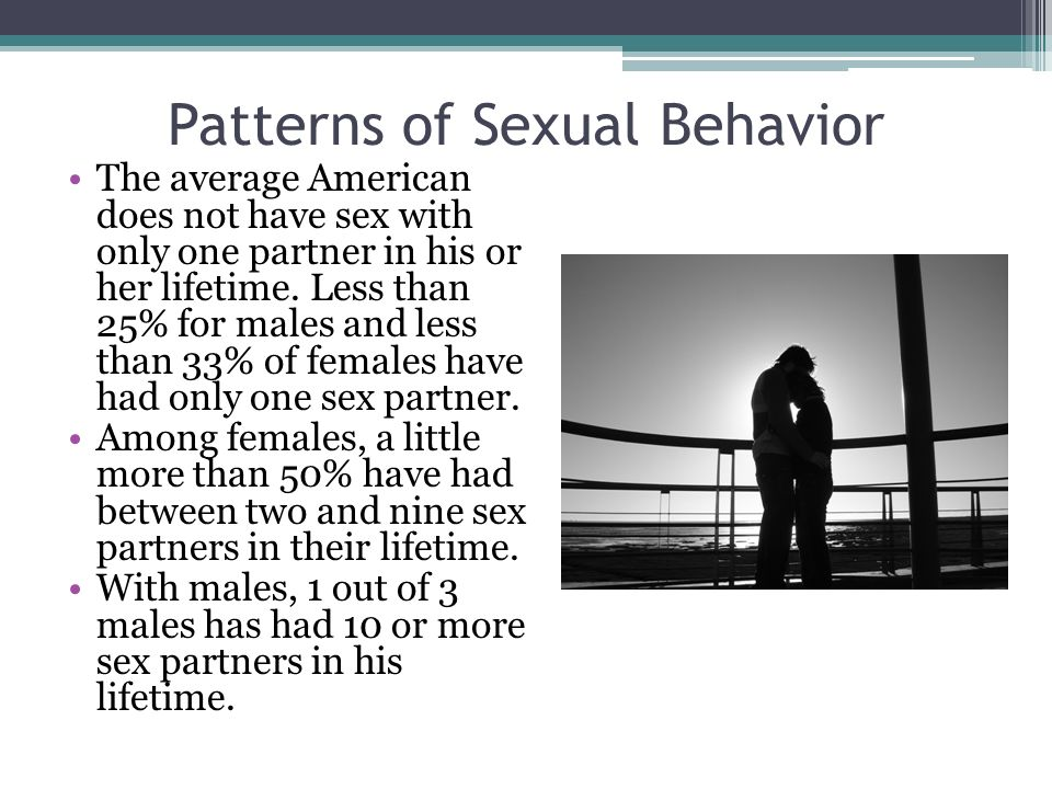 Sexual behavior patterns abnormal