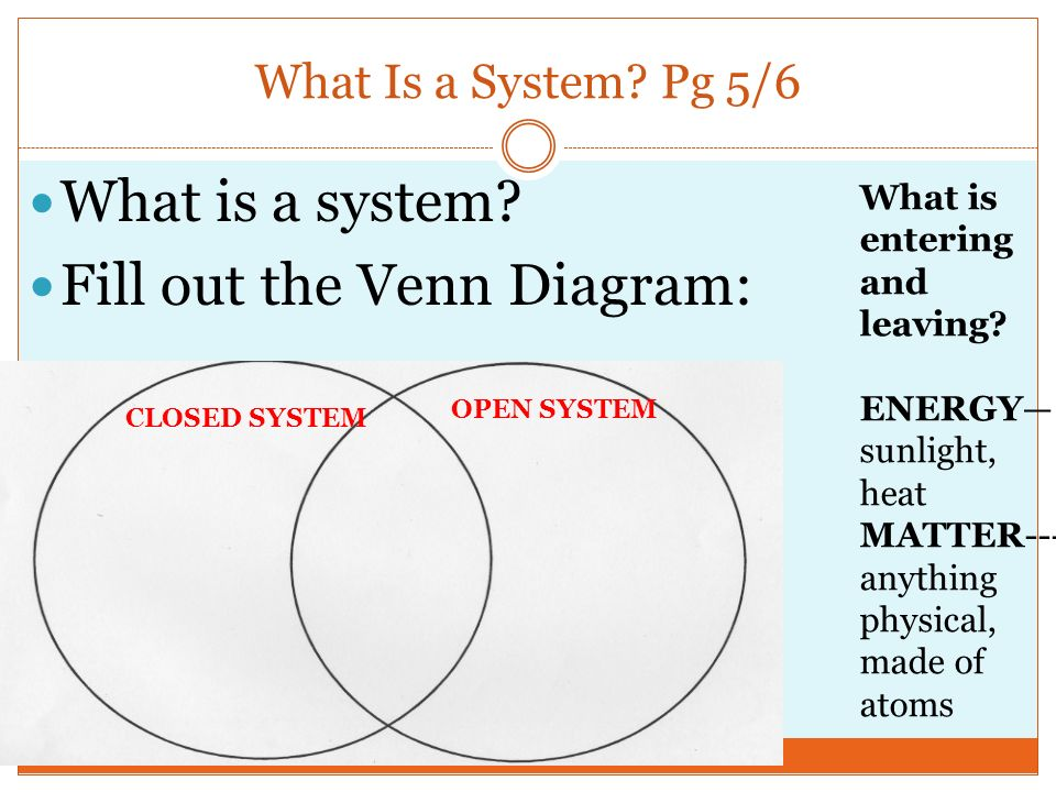 Chapter 1 earth as a system ppt video online download fill out the venn diagram ccuart Gallery