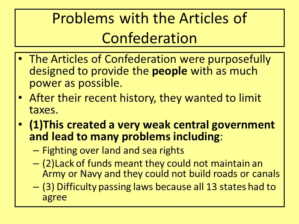 Georgia Constitution and The Articles of Confederations - ppt download