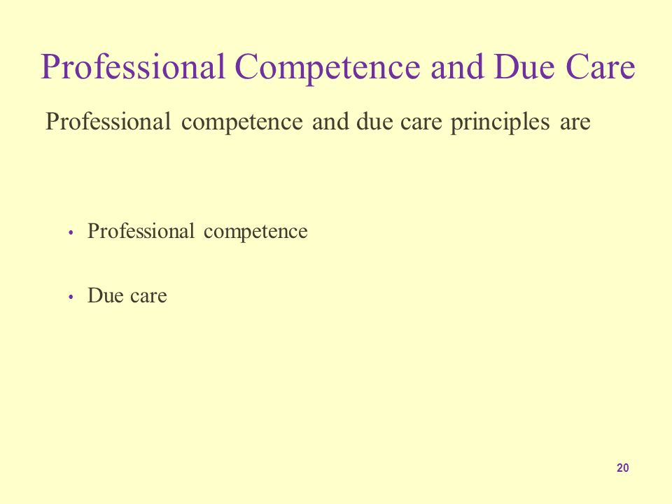 competence as an ethical and legal concept This article will examine some of the ethical and legal issues correctional nurses must address in their practice  standards of care and competence, this exposes .