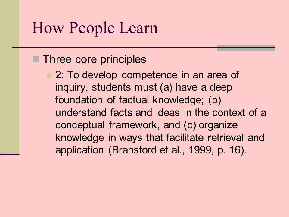 How people learn brain