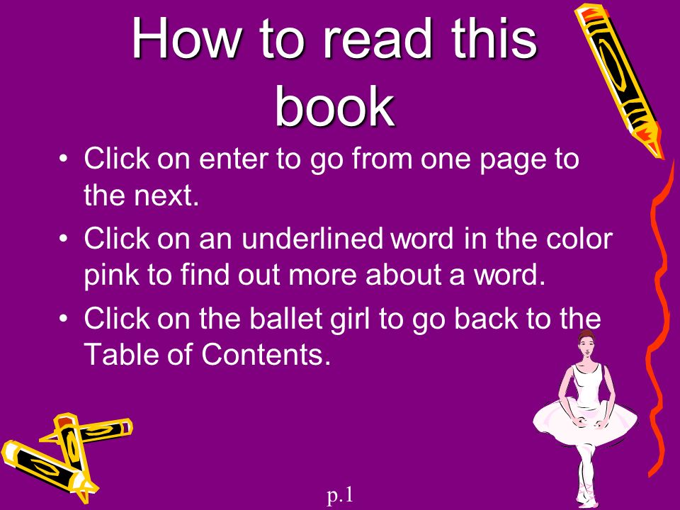 Dancing for grade 3 nonfiction ppt video online download for Underline the table